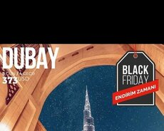 Black Friday Dubay turu
