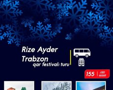 Trabzon Shopping turu 155Azn