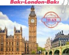 Baki- London aviabilet